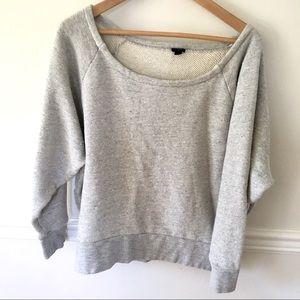 Jcrew dolman sleeve sweatshirt